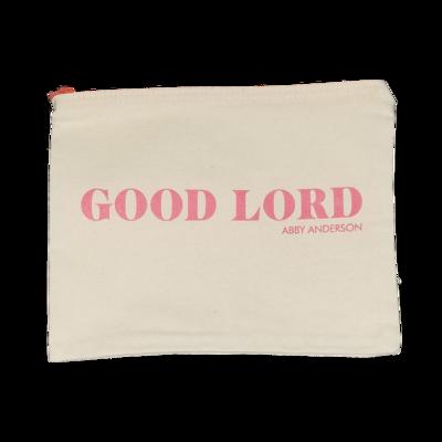 Good Lord Zippered Bag