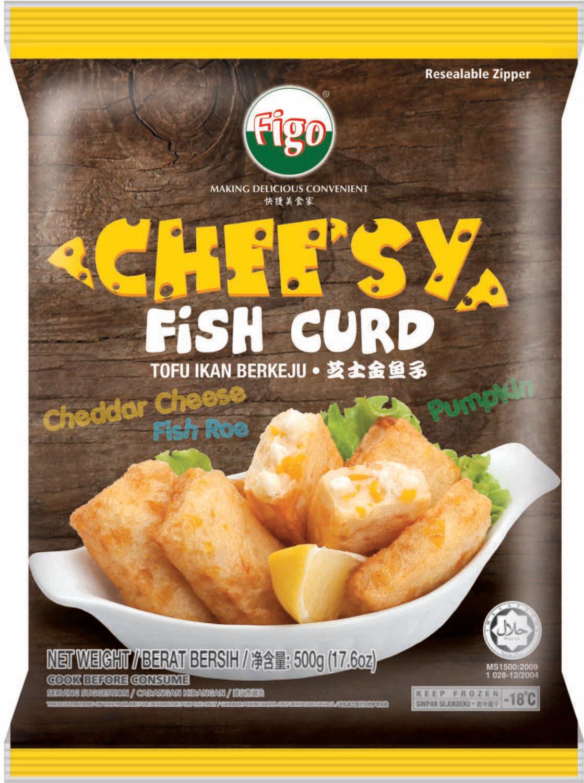 Cheesy Fish Curd