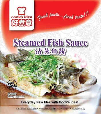 Cook's Idea - Steamed Fish Sauce