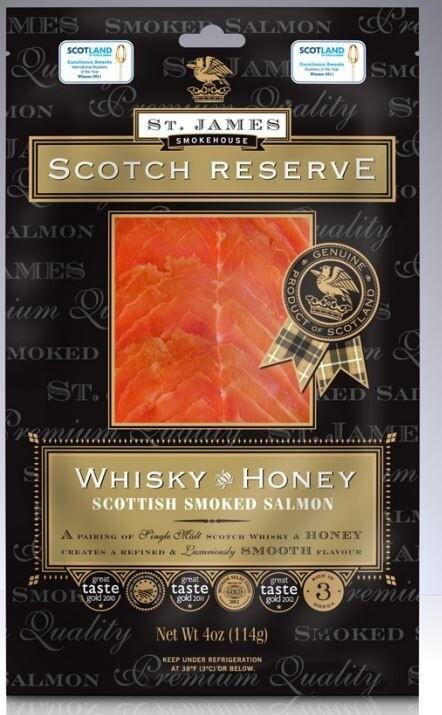 Pan Royal Frozen Smoked Salmon Whisky & Honey