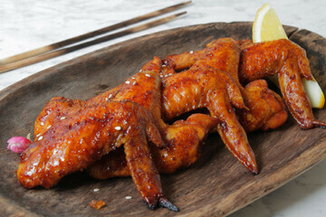Pan Royal Frozen BBQ Chicken Wing (10pc)