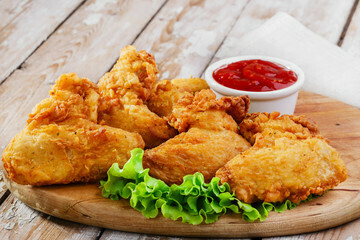 Pan Royal Frozen Fried Chicken Wing (10pc)