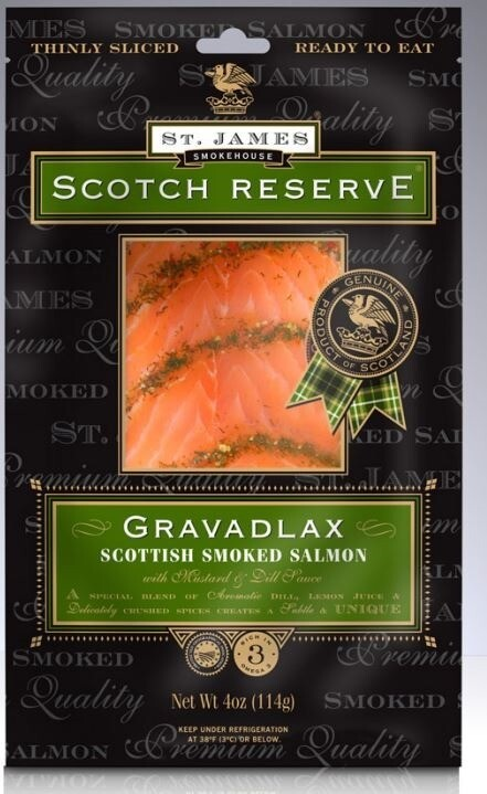 Pan Royal Frozen Smoked Salmon Gravadlax