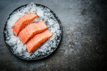 Fresh Salmon Fillet 500g +/- (Per Tray)