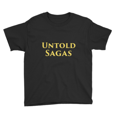 Untold Sagas Youth Short Sleeve T-Shirt