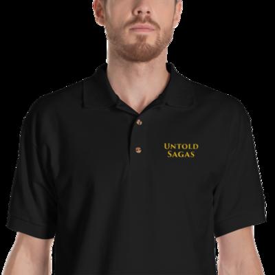 Untold Sagas Embroidered Polo Shirt