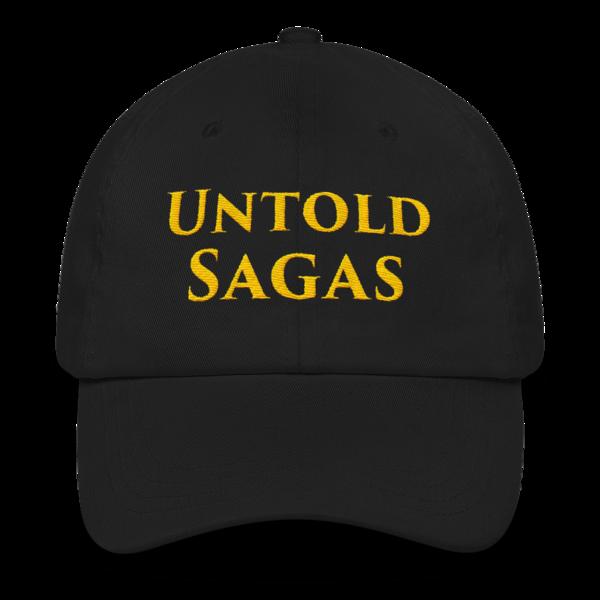 Untold Sagas Embroidered Cap