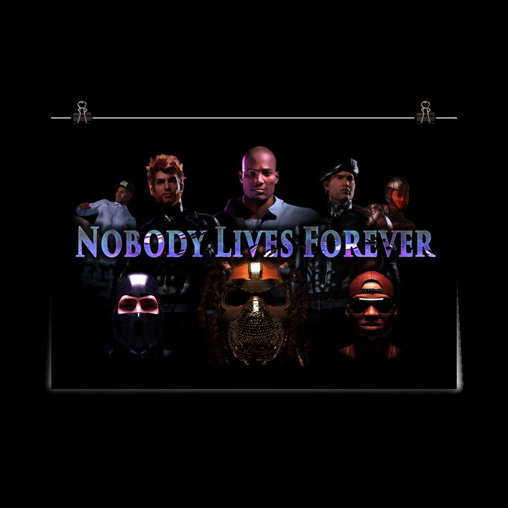 Nobody Lives Forever Trailer Poster