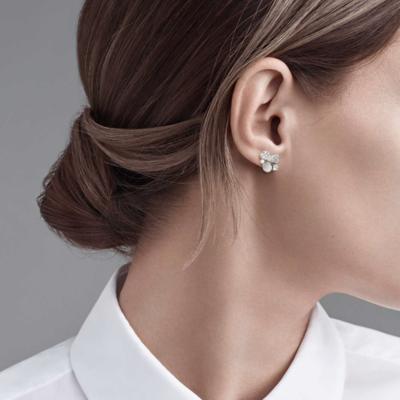 SAMPLE. Marquise Diamond Earrings