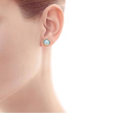 SAMPLE. Olive Leaf Earrings