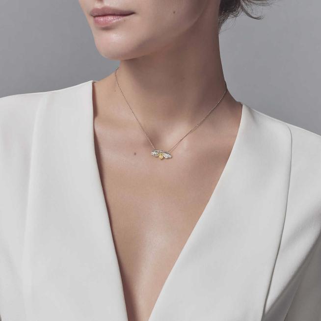 SAMPLE. T Bar Necklace