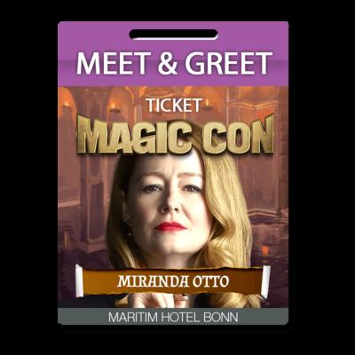 Meet and Greet Miranda Otto