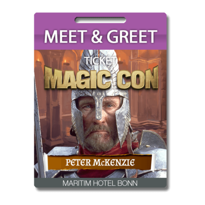 Meet and Greet Peter McKenzie