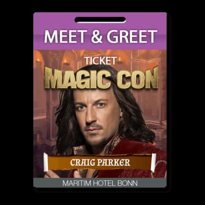 Meet and Greet Craig Parker