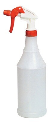 Clear Spray Bottle with Trigger 32oz