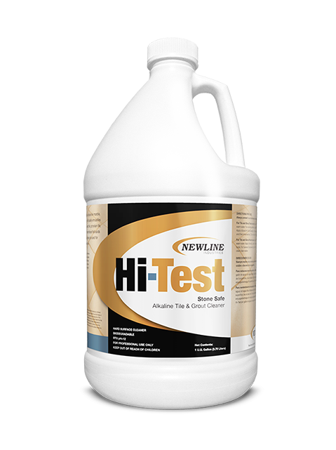 Hi Test (Gallon) by Newline | Premium Alkaline Stone and Tile Cleaner