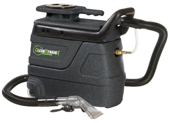3 gl Carpet Spotter Package (with 15ft hoses & Upholstery Tool) by Clean DynamiX | 600W Heater & Dual-Stage Vac Motor