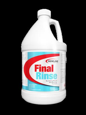 Final Rinse (Gallon) by Newline | Carpet Neutralizing Rinse & Anti-Browning Treatment