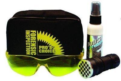 Forensic Kit (Glasses, UV Light and Spray) by CTI Pro's Choice | Urine Detection Kit