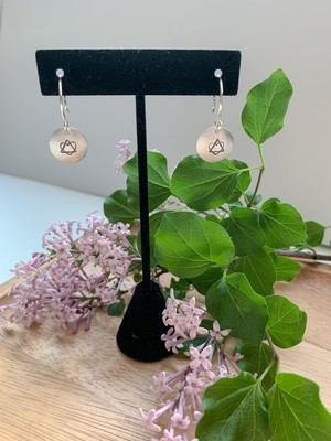 Adoption Symbol Earrings