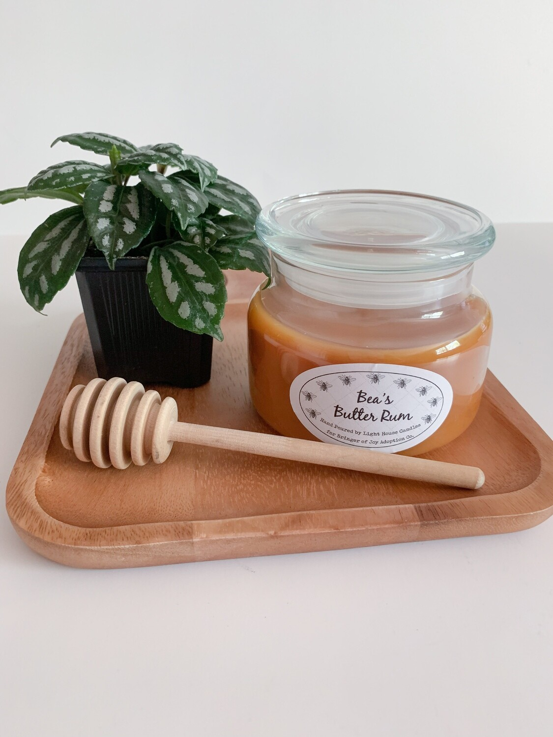 Bea's Butter Rum Candle