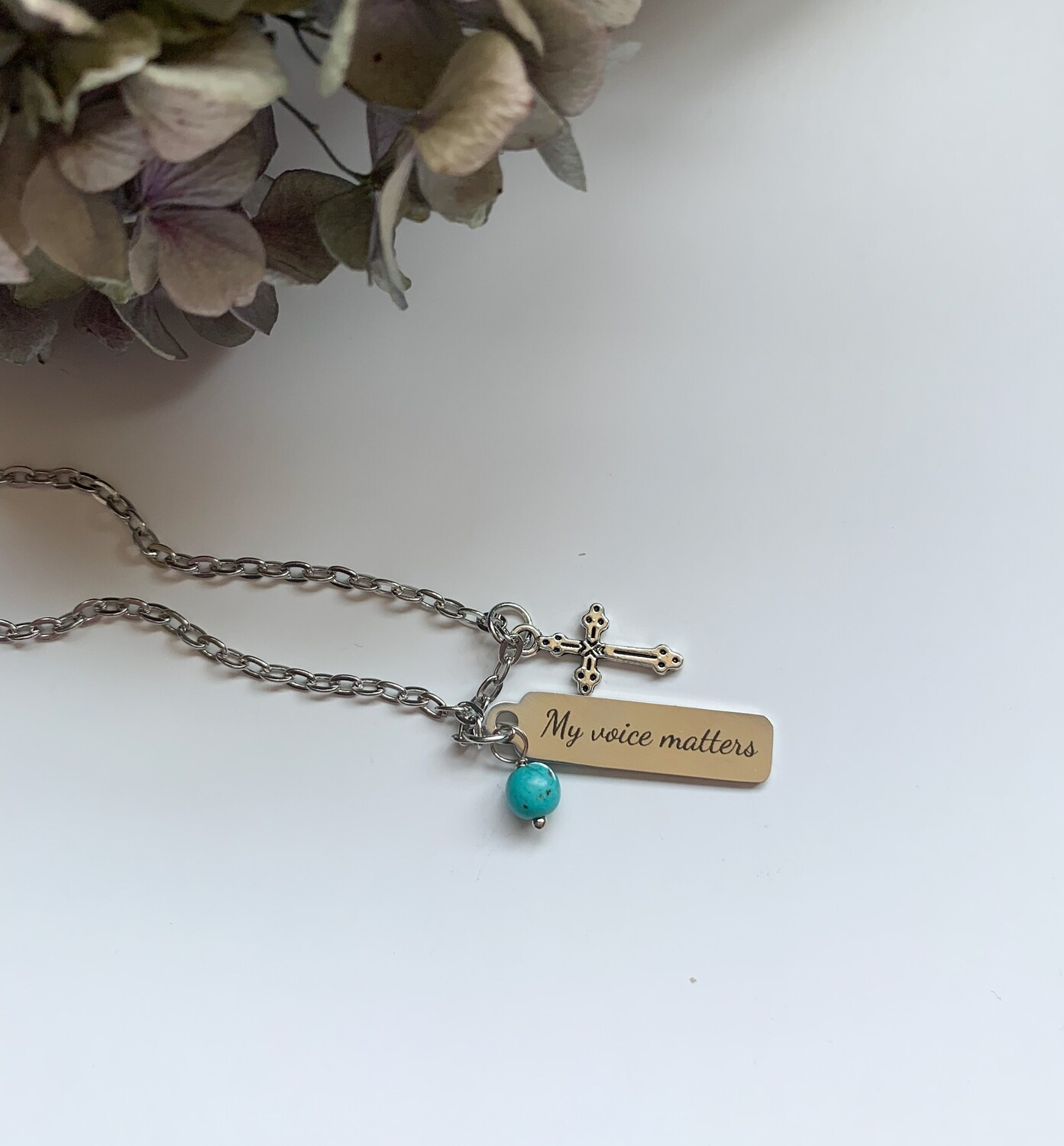 My Voice Matters Necklace