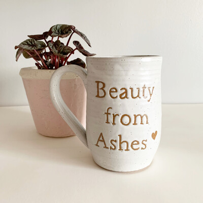 Beauty From Ashes Mug