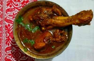Local Chicken Curry - NEW - 5 Pcs