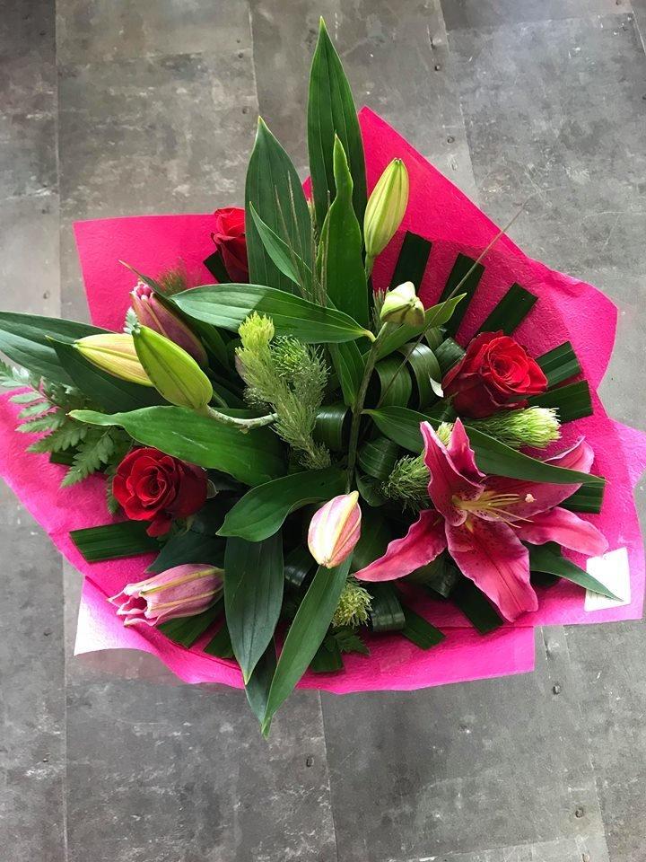 Oriental & Rose Bouquet