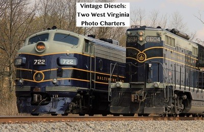 Vintage Diesels: Two West Virginia Photo Charters