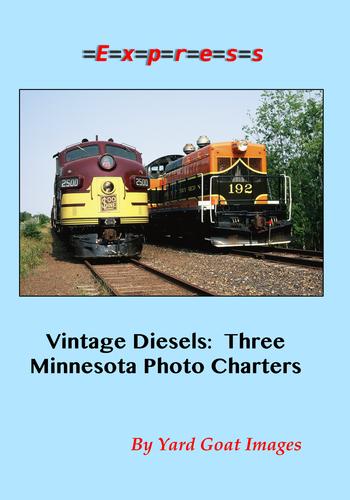 Vintage Diesels: Three Minnesota Photo Charters