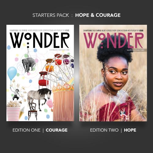 Wonder Magazine Bundle     LIMITED AVAILABLE!