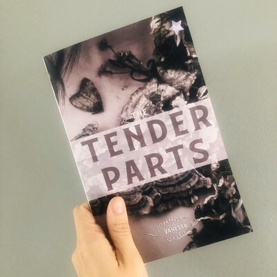 THE TENDER PARTS: Booklet with print flaws
