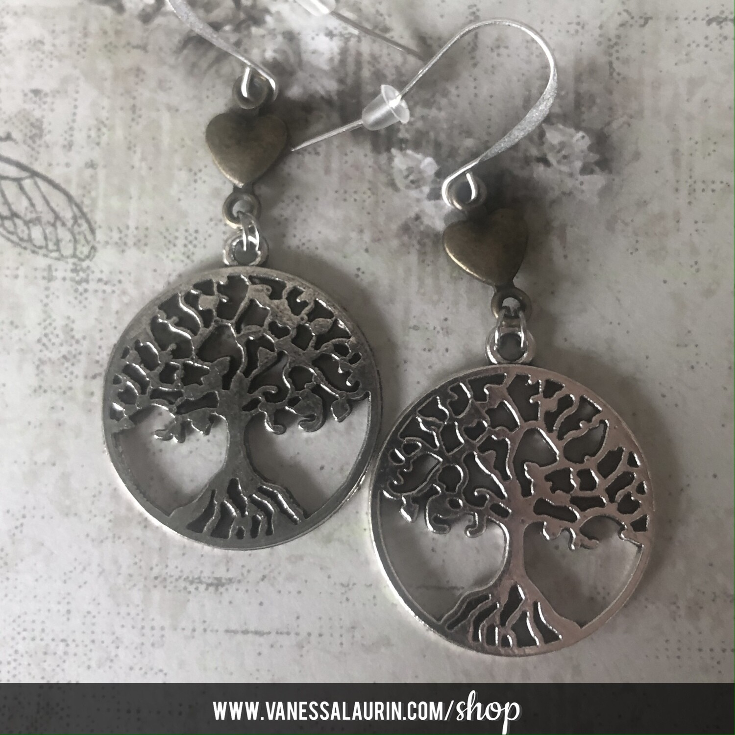 Woodland Whimsy Collection: Tree lover earrings