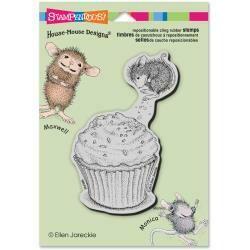 House Mouse Cupcake Jump