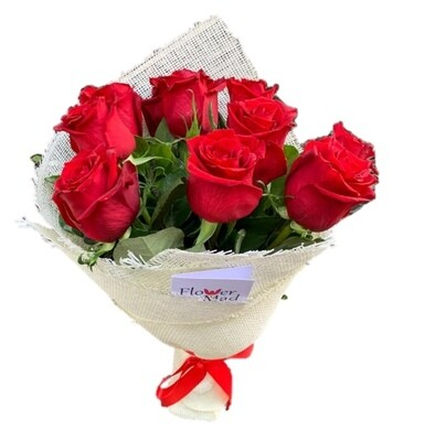 Love Red roses Bouquet