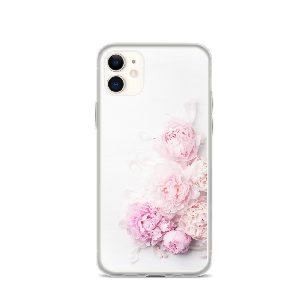 Pink Peony Flower - iPhone Case