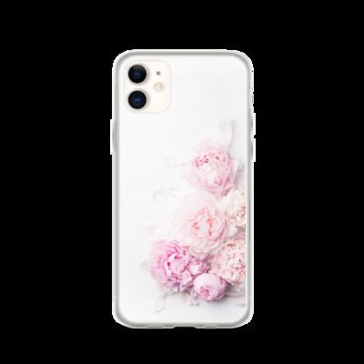 Pink Peony Flower - iPhone Case
