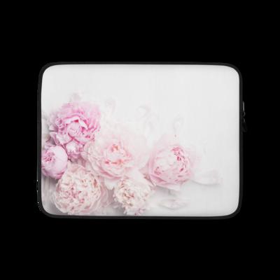 Pink Peony Flower - Laptop Sleeve