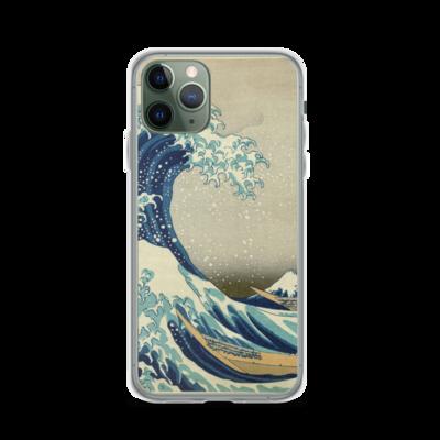 The Great Wave Off Kanagawa - iPhone Case