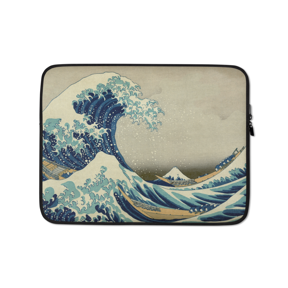The Great Wave Off Kanagawa - Laptop Sleeve