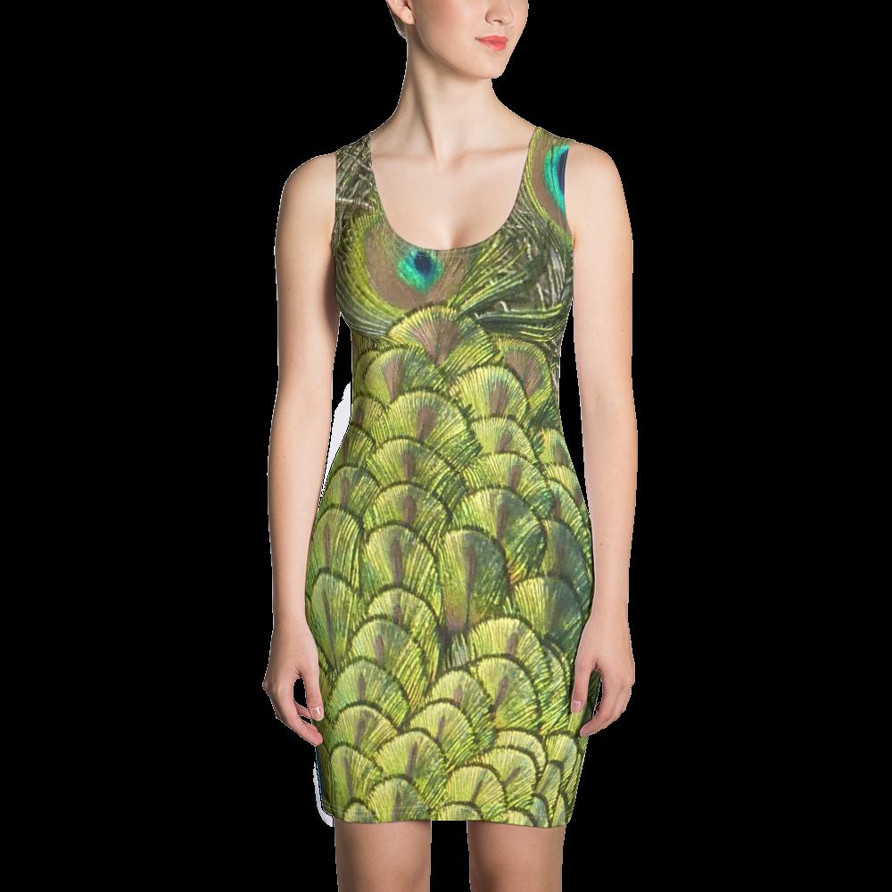 Peacock Bird - Bodycon Dress