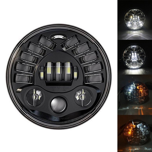 "Alien 110 Watts, High Power, 5.75"" Inches LED Headlight"