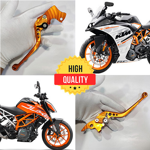 Adjustable Brake Clutch Levers For KTM 125, 200, 250, 390 RC & DUKE