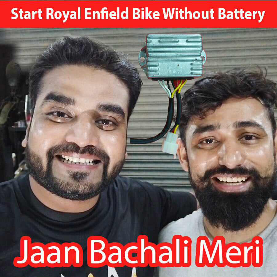 RR Unit for Royal Eefield that can start bike without battery