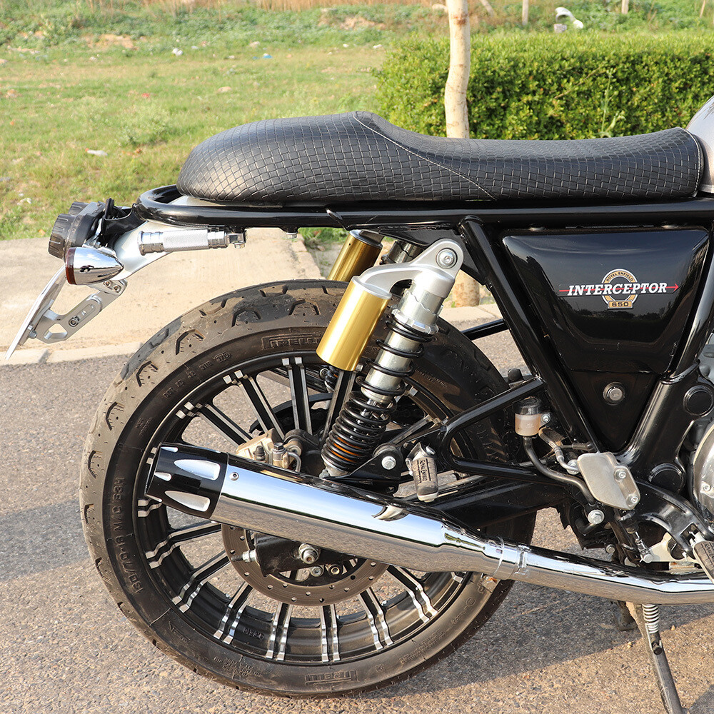 Cafe Racer seat for Royal Enfield Interceptor 650 and GT 650