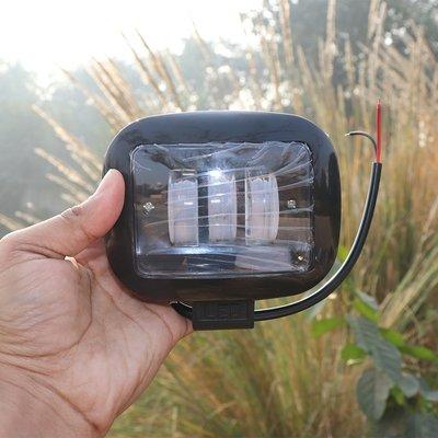 3X Harley type fog lamps - 96 Watt (8640 - Lumens) Square Shape - pair