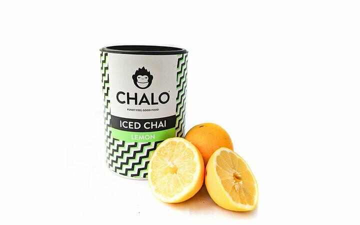 Iced chai lemon