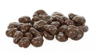 Rozijnen in chocolade