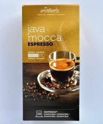 JAVA MOCCA 20cup's (nespresso° compatible)